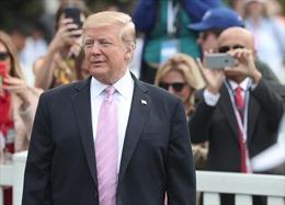 Tổng thống Trump tin Mỹ có lợi thế đàm phán thương mại với EU