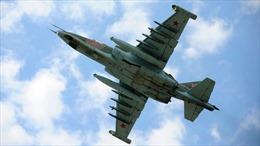 Máy bay ném bom Su-25 Nga rơi, hai phi công mất tích