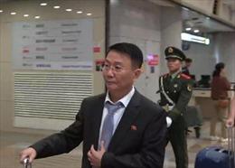 Quan chức ngoại giao Triều Tiên xuất hiện tại Trung Quốc