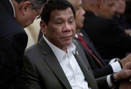 Tổng thống Duterte chia sẻ lý do khiến ông bị sụp mí mắt