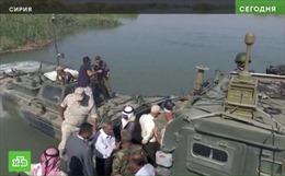Xung đột leo thang, đặc nhiệm Nga mở một hành lang mới trên chiến trường Syria