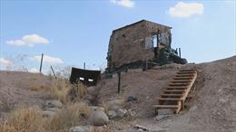 Cảnh vườn không nhà trống tại căn cứ quân sự Mỹ ở Đông Bắc Syria