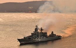 Biên đội tàu chiến Hạm đội Thái Bình Dương Nga thăm Thái Lan