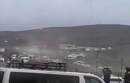 Trực thăng chở Tổng thống Bolivia xoay vòng mất kiểm soát trên không
