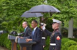 Lần đầu tiên thành viên Thủy quân Lục chiến Mỹ được dùng ô