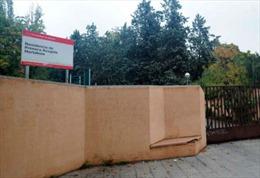 Trung tâm dành cho trẻ em nhập cư trái phép bị ném lựu đạn
