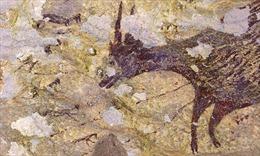Phát hiện hình vẽ cổ nhất do người hiện đại vẽ trong hang