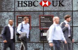 Lợi nhuận giảm mạnh, HSBC định cắt tới 35.000 việc làm