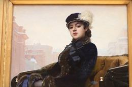 Vẻ đẹp người phụ nữ trong những bức họa ở phòng tranh nổi tiếng ở Moskva