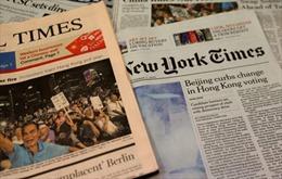 Mỹ, Trung Quốc tranh cãi vụ trục xuất nhà báo