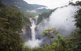 Thác nước cao nhất Ecuador bỗng biến mất vì hố tử thần