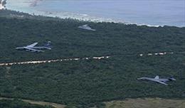 Nước cờ của Mỹ khi rút hết máy bay ném bom khỏi Guam