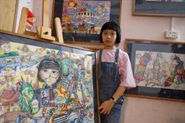 Hãng thông tấn Anh đưa tin họa sĩ nhí Việt Nam sáng tác về COVID-19