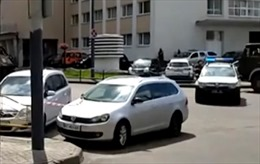 Nổ tại địa điểm tay súng bắt cóc con tin ở Ukraine