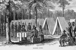 Hình thức bỏ phiếu bầu qua thư đã có từ Nội chiến Mỹ