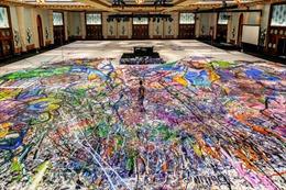 Bức tranh lớn nhất thế giới trên vải bạt