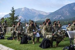 Các học viện quân sự Mỹ dùng 'binh pháp' chống COVID-19