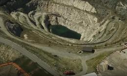 Cận cảnh nhà máy thủy điện và mỏ tối mật ở Tân Cương, Trung Quốc