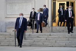 Tổng thống Trump xuất viện sau 3 ngày điều trị COVID-19