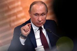Tổng thống Putin nói Mỹ phớt lờ đề nghị hợp tác an ninh mạng