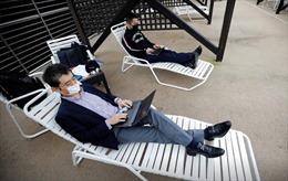 Công viên giải trí biến thành 'văn phòng' làm việc từ xa tại Nhật Bản