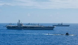 Australia, Ấn Độ, Mỹ và Nhật Bản tập trận hải quân chung