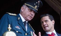 Cựu Bộ trưởng Quốc phòng Mexico bị bắt tại sân bay Mỹ