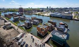 Những căn nhà 'miễn nhiễm' lũ lụt tại Hà Lan