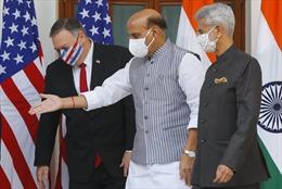 Ngoại trưởng, Bộ trưởng Quốc phòng Mỹ mang thông điệp phản đối Trung Quốc đến Ấn Độ