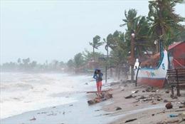 Hình ảnh bão Goni hoành hành Philippines