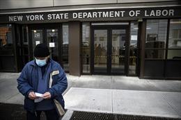 Chuyên gia vẫn quan ngại dù số người đăng ký nhận trợ cấp thất nghiệp Mỹ giảm
