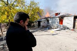 Người dân Nagorno-Karabakh đốt nhà trước khi thỏa thuận hòa bình có hiệu lực