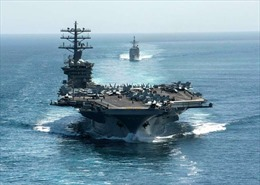 Hải quân Mỹ phủ nhận điều tàu sân bay tới Vùng Vịnh vì 'mối nguy hiểm'