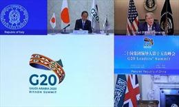 Tổng thống Trump thổ lộ muốn làm việc 'trong thời gian dài' với các lãnh đạo G20