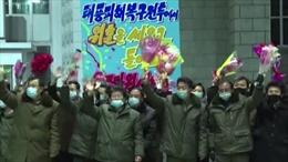 Triều Tiên vinh danh những người có công trong cuộc chiến chống bão lũ