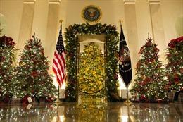 Nhà Trắng trang trí độc đáo mừng Giáng sinh
