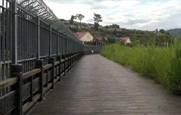 Trung Quốc xây tường biên giới chống vượt biên trái phép