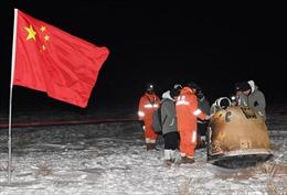 Trung Quốc hứa chia sẻ mẫu phẩm từ Mặt Trăng với các nhà khoa học nước ngoài