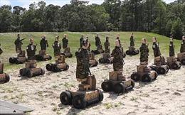 Thủy quân lục chiến Mỹ dùng robot làm mục tiêu huấn luyện