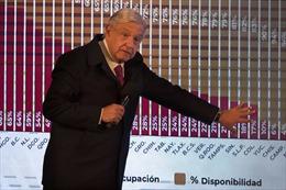Mexico cho quân đội quản lý sân bay, đường sắt để gây quĩ hưu trí
