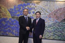 Đại sứ Nhật Bản tại Việt Nam làm việc với ngân hàng VietinBank