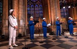 Hợp xướng lần đầu tổ chức tại Nhà thờ Đức Bà sau vụ hỏa hoạn kinh hoàng