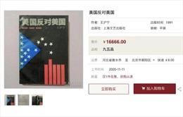 Sách viết cách đây 30 năm về Mỹ bỗng có giá 2.500 USD ở Trung Quốc