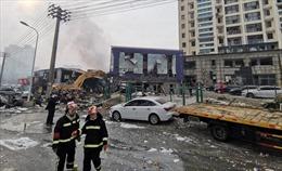 Nổ đường ống dẫn khí đốt tại Trung Quốc