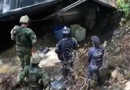 Phát hiện 2 cơ sở sản xuất ma túy lớn ẩn sâu trong rừng Colombia
