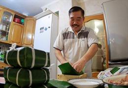 Hương vị bánh chưng Tết của người lính Cụ Hồ tại Nga