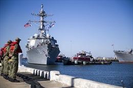 Chiến hạm Nga, Mỹ không hẹn mà gặp tại cảng châu Phi