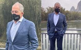 Thông điệp trên khẩu trang mà Ngoại trưởng Nga đeo khi đến Trung Quốc