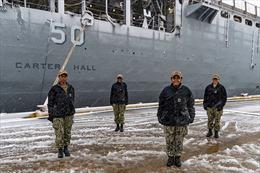 Hải quân Mỹ lần đầu tiên có 4 nữ chỉ huy chiến hạm là người da màu