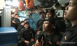 Video ám ảnh thủy thủ hát bài 'Tạm biệt' không lâu trước khi tàu ngầm Indonesia chìm